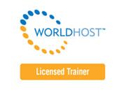 WorldHost logo